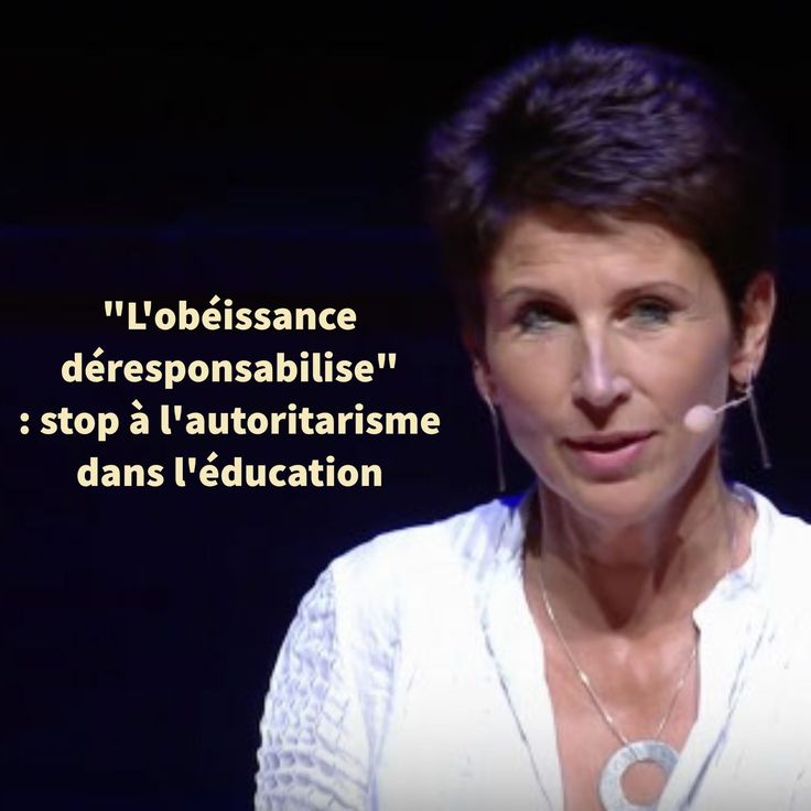 """""""DEPRESENTED OBEDIENCE"""": STOP AUTHORITARISM IN EDUCATION. Agnès Dutheil, mother of 5 children, will explain her par …"""