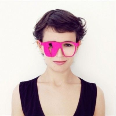 Unisex Pub/Party Felt Glasses (Electro)
