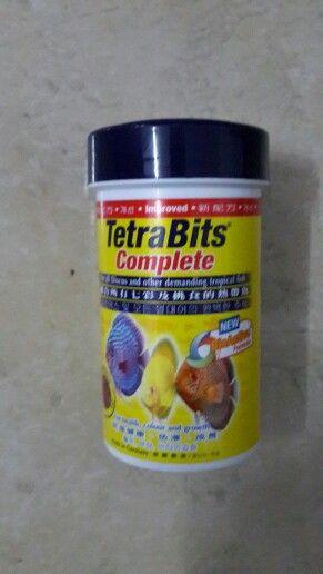 Tetra bits complete 23gr  Pakan granula khusus pertumbuhan. Pembentukan tubuh dan warna discus dan ikan-ikan Aquascape Rp. 25.000 Hubungi 087808056679 Pin bb 74cf3799 www.biota-aquatic.blogspot.com