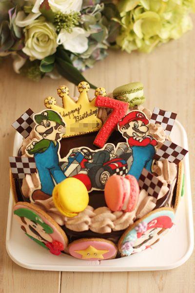 マリオカートのお誕生日ケーキ
