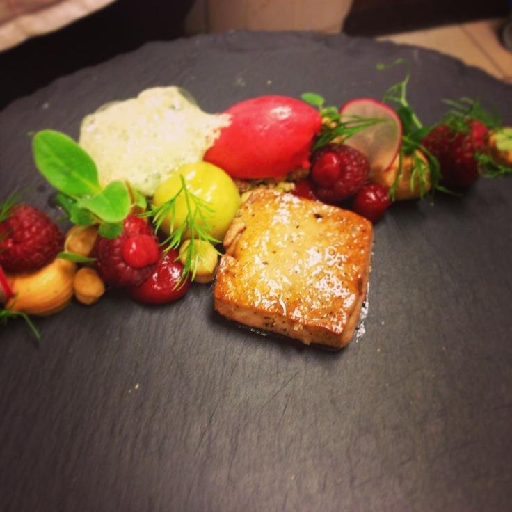 Foie & raspberry