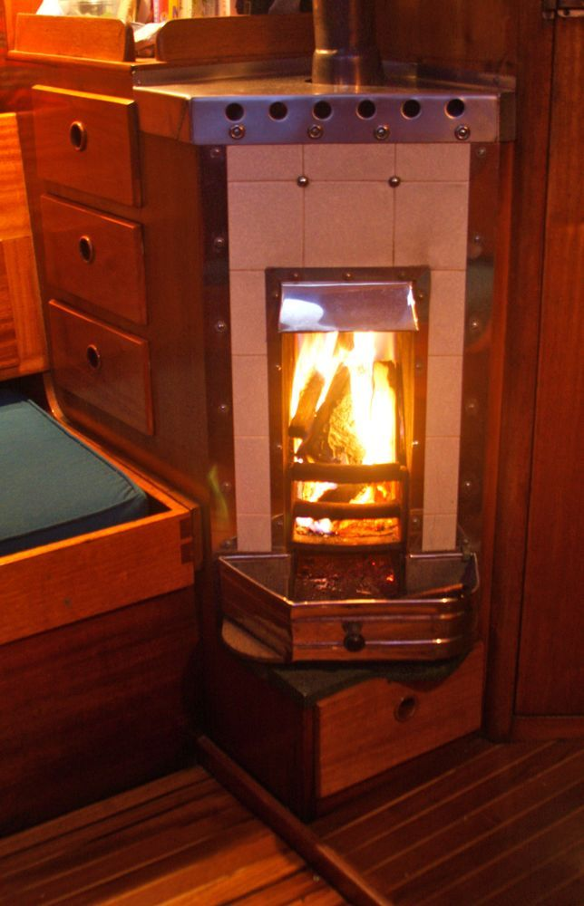 Simpson Lawrence Marine Wood Heater Small Wood Stove
