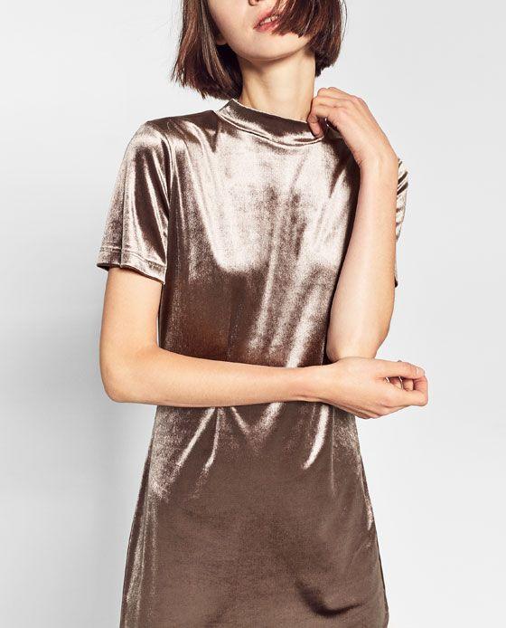 ZARA - WOMAN - VELVET DRESS