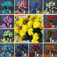252 Mini Silk Carnations Wedding Flowers Bouquets Arrangements SALE - 15 colors