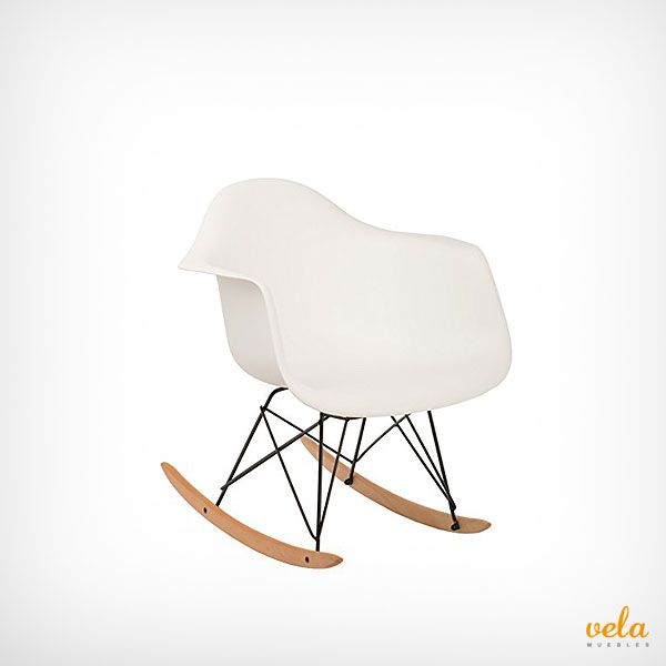 Mecedra Eames inspirada en el modelo Tower. Vintage, retro, muy decorativa y original. Echa un vistazo ahora!