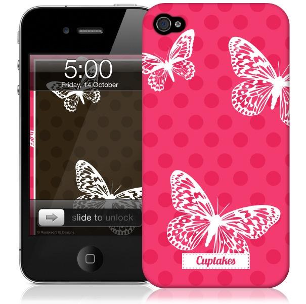 Pink Butterflies case.