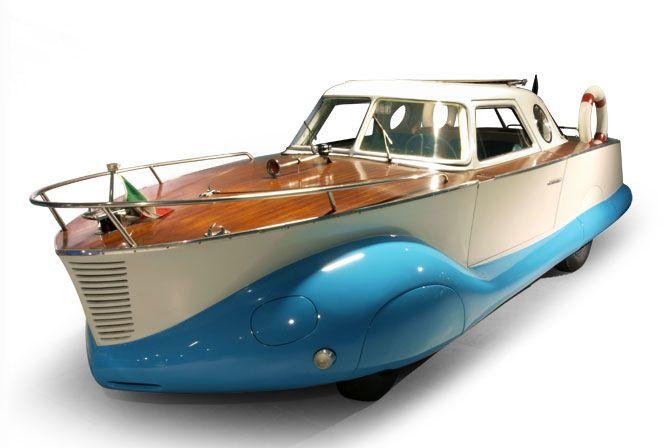 fiat bateau 02 La Fiat 1110 Boat Car de 1953