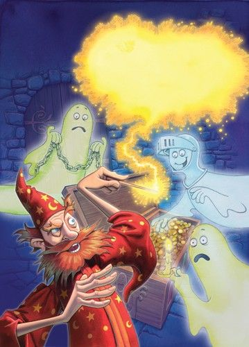 Graham Howells Illustration - graham, howells, graham howells, commercial, fiction, fantasy, paint, painted, watercolour, wizard, wizards, ghost, ghosts, magic, magical