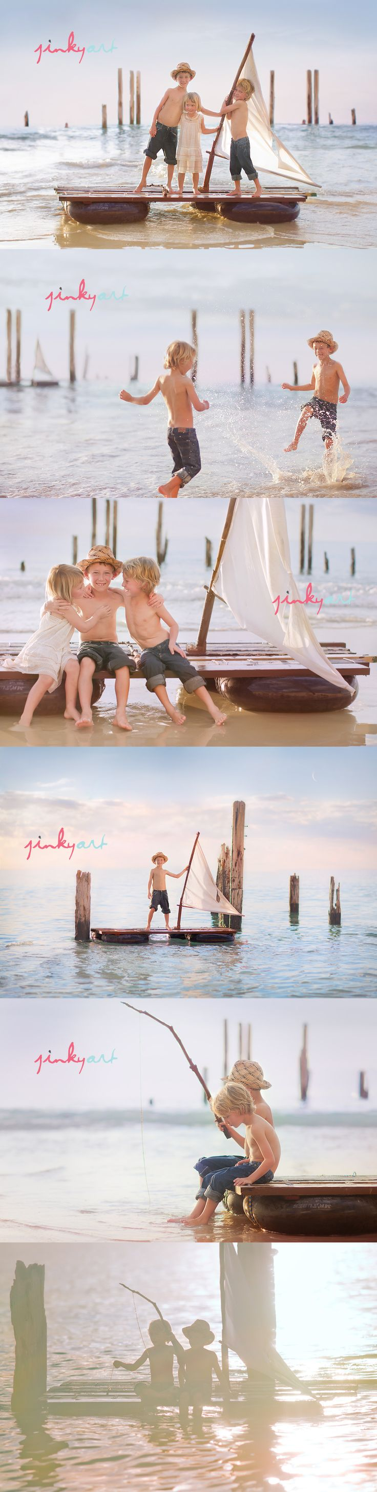this is a great session concept! To all my clients if you would love something like this of your children just ask me about a Lake Okoboji Session! or if you know of another great lake location we can do that ! copy rights: Jinky Art