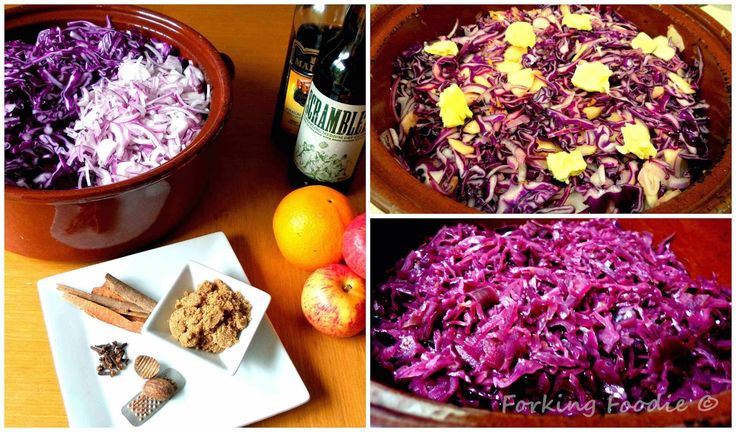 Forking Foodie: Spiced Braised Red Cabbage (includes Thermomix method)