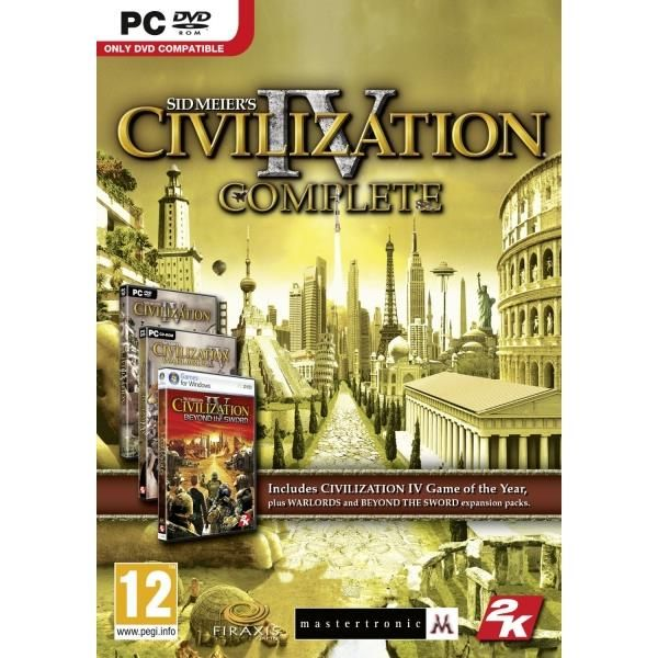 Sid Meier's Civilization IV 4 Complete Game PC | http://gamesactions.com shares #new #latest #videogames #games for #pc #psp #ps3 #wii #xbox #nintendo #3ds
