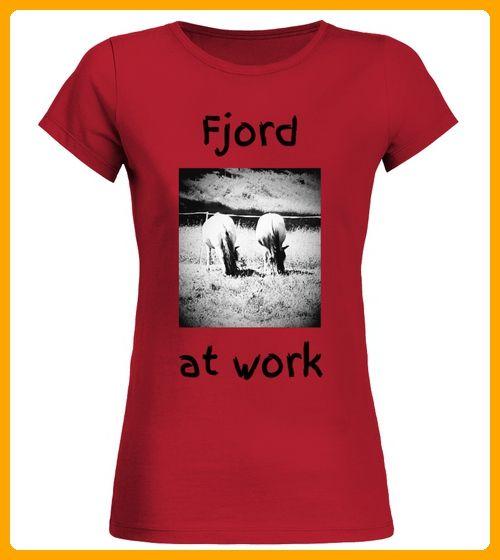 Fjord Norweger Pferd Beige Reiten Stall - Spaß shirts (*Partner-Link)