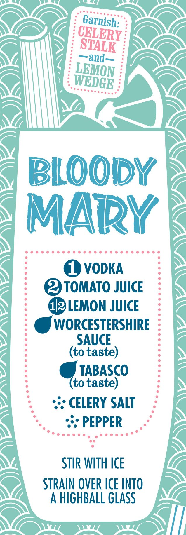 Bloody Mary #Cocktail