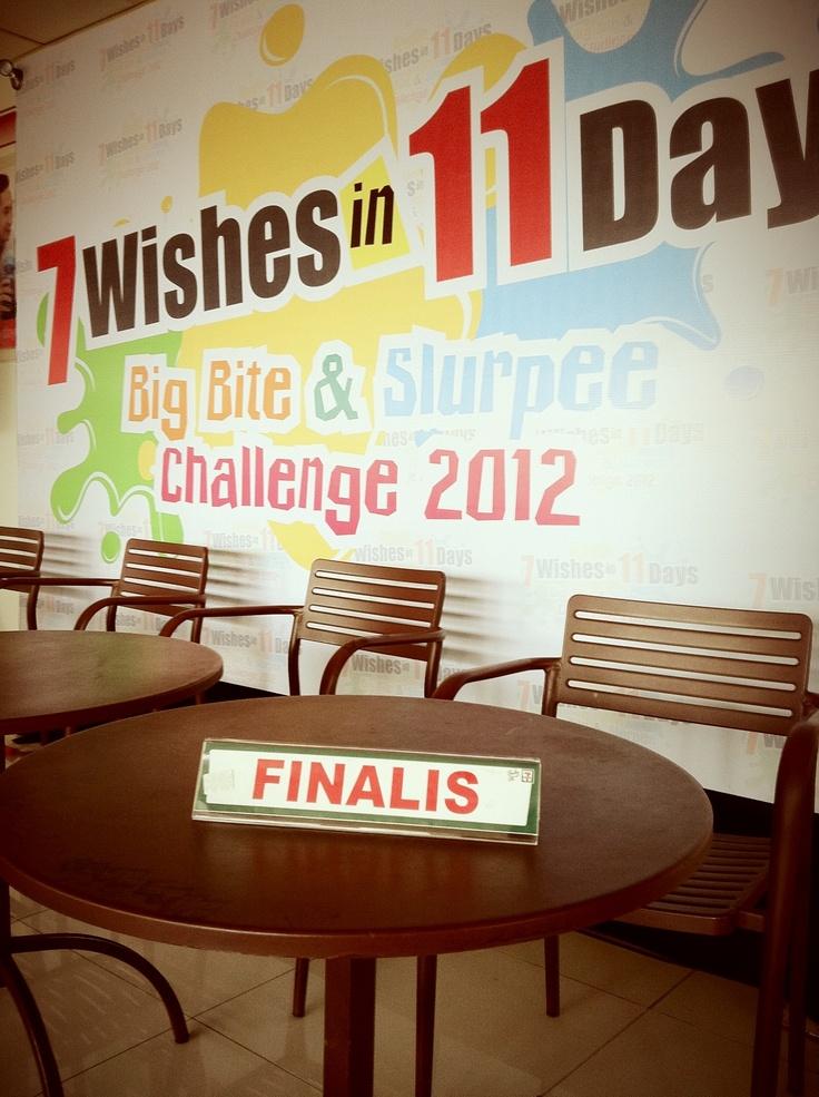 7Eleven Big Bite & Slurpee challenge, oct - nov 2012