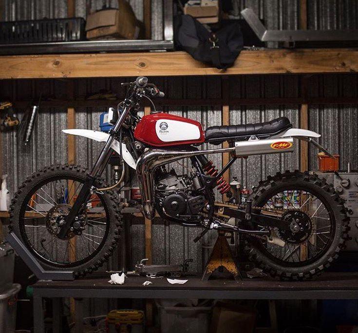 "2,756 Likes, 8 Comments - BikeBound (@bikeboundblog) on Instagram: ""Little Ripper: Yamaha DT125 built by @earnestco for the Auckland @gentlemansride. Sweet little…"""
