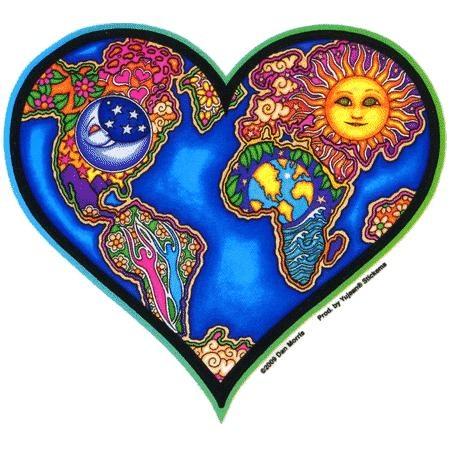 Earth Heart, by Dan Morris