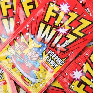Fizz Wiz Popping Candy – Strawberry - popping strawberry candy, it's a taste experience!