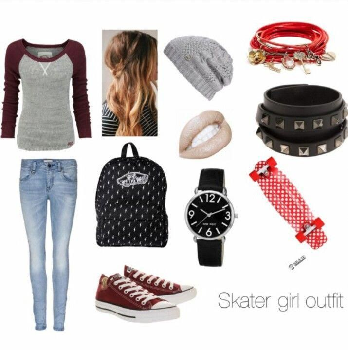 Skater girl outfit #surfergirlstyle – Surfer Girls