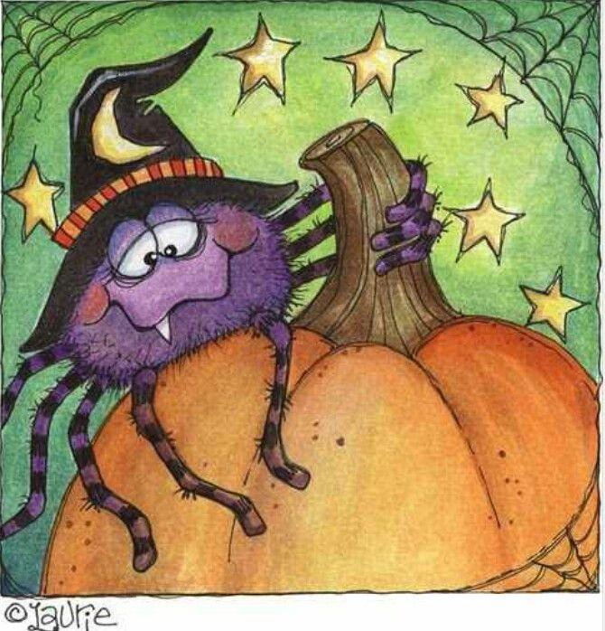 Spider halloween pinterest bordado punto de - Pinturas para halloween ...