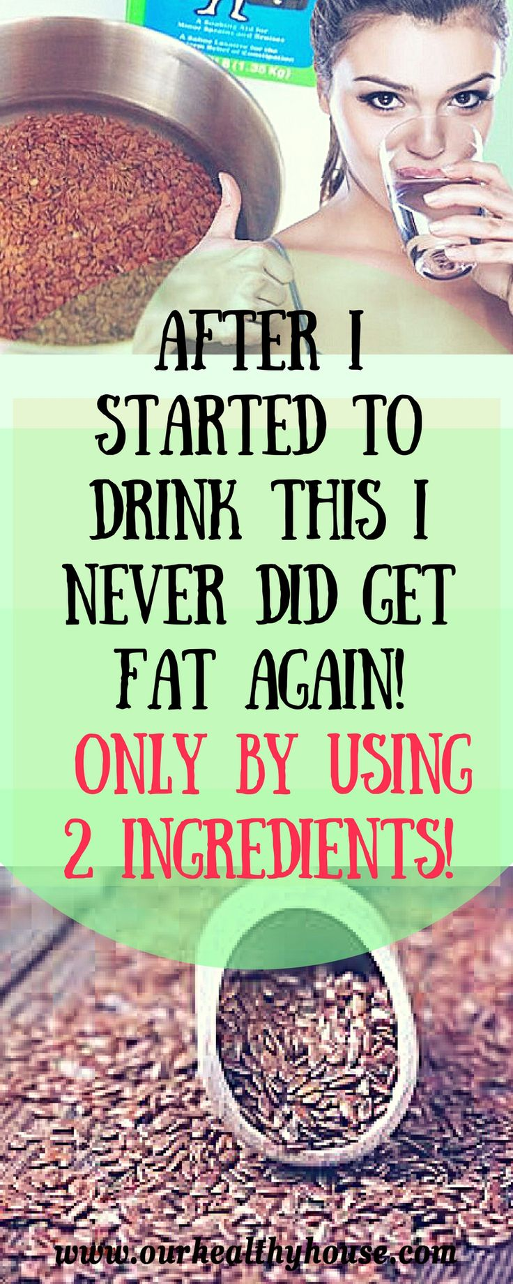 After I Started Drinking This I Never Got Fat Again! I Only Used 2 Ingredients
