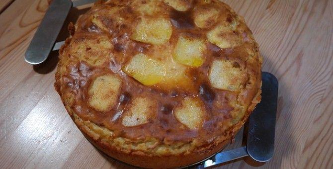Swiss Cheese Potato Cakes