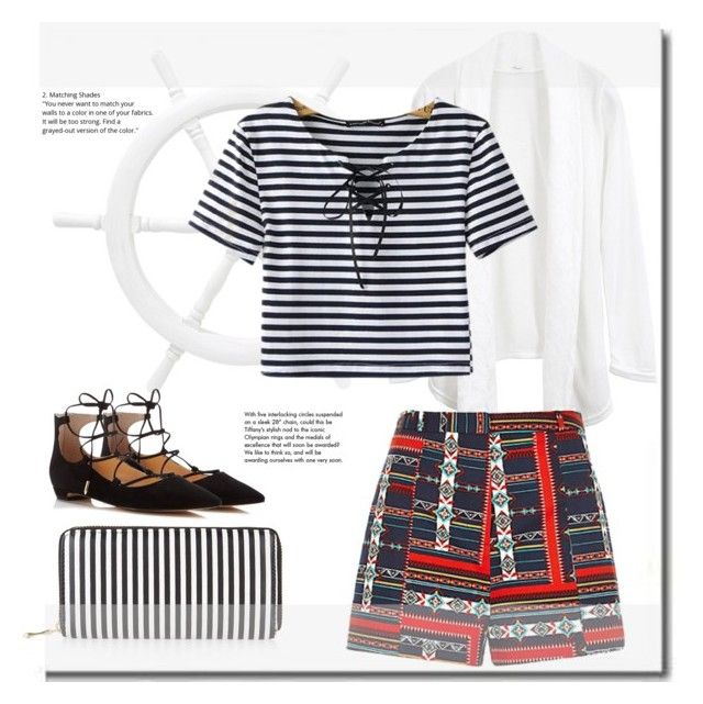 Pattern Mix by trendyyou ❤ liked on Polyvore featuring Chicnova Fashion, Ivanka  Trump, New
