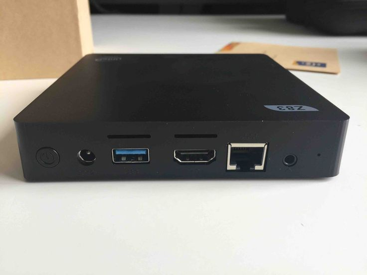 BEELINK Z83-V Mini PC Windows system Intel Atom x5-Z8350のレビューです!