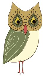 Day 184: Sad Retro Owl