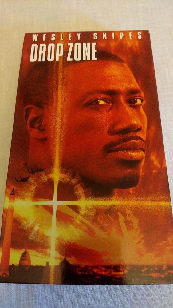Movie Drop Zone with Wesley Snipes VHS
