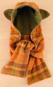 Schal-Mütze mit Ohren
