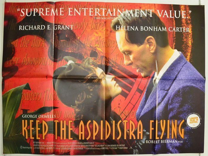 "Keep The Aspidistra Flying (Merry War) / Цветы любви (1997) – экранизация романа ""Да здравствует фикус"" Джорджа Оруэлла"