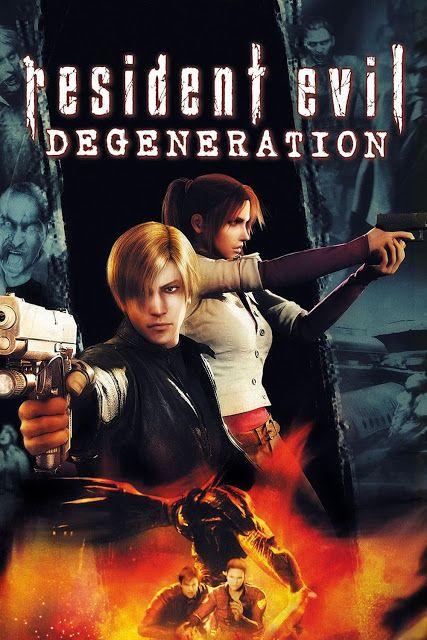 Resident Evil : Degeneration (2008) 720p BluRay x264 ESubs AC3 Dual Audio [Hindi DD2.0 + English DD2.0]