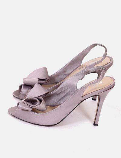 Zapatos grises lazo  Bibi Lou