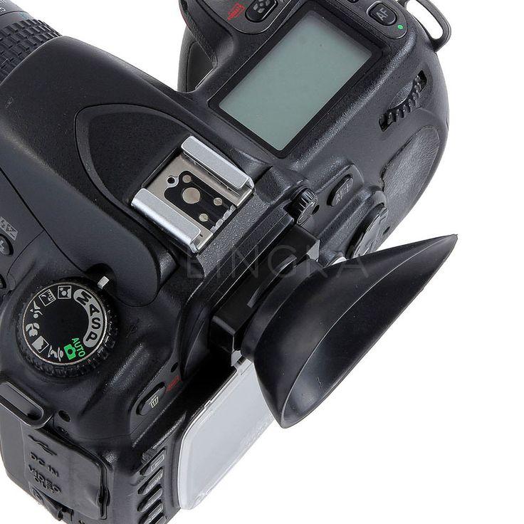Camera Eyecup Rubber Eyepiece 22mm For Nikon D300 D300S D200 D90 D80 D70S D60 D40 D40X DSLR Accessories