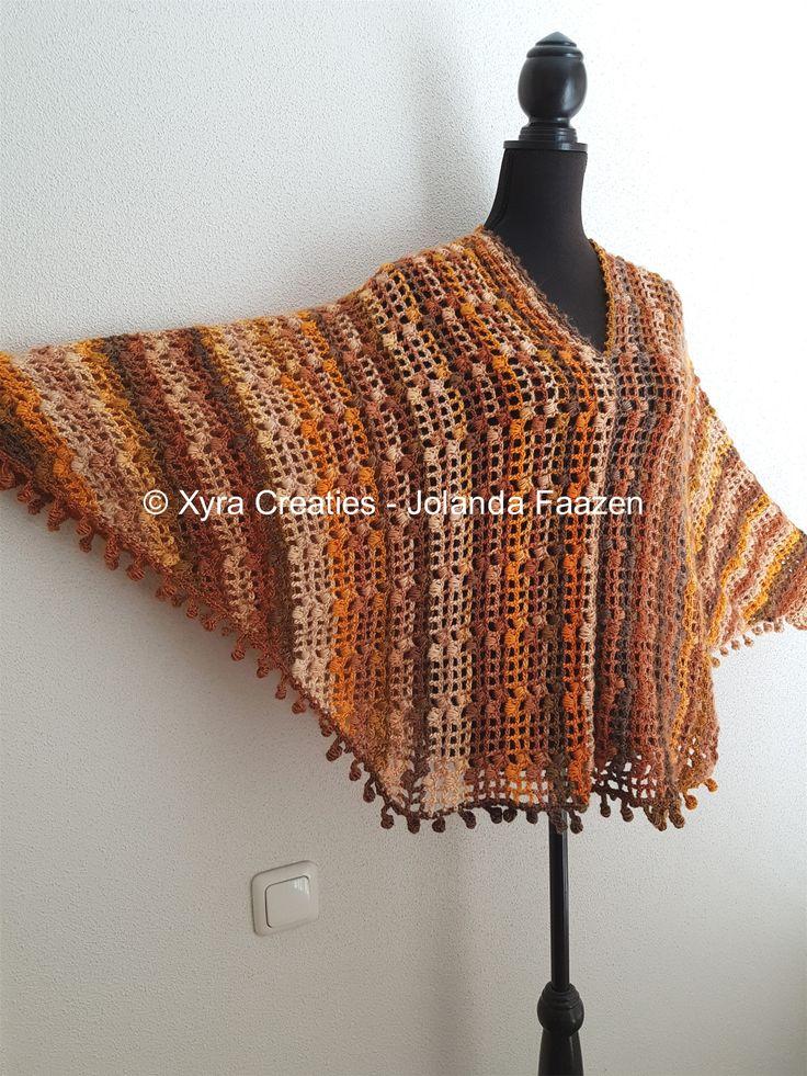 #PATR1085 #Omslagdoek #haakpatroon #patroon #haken #gehaakt #crochet #pattern…