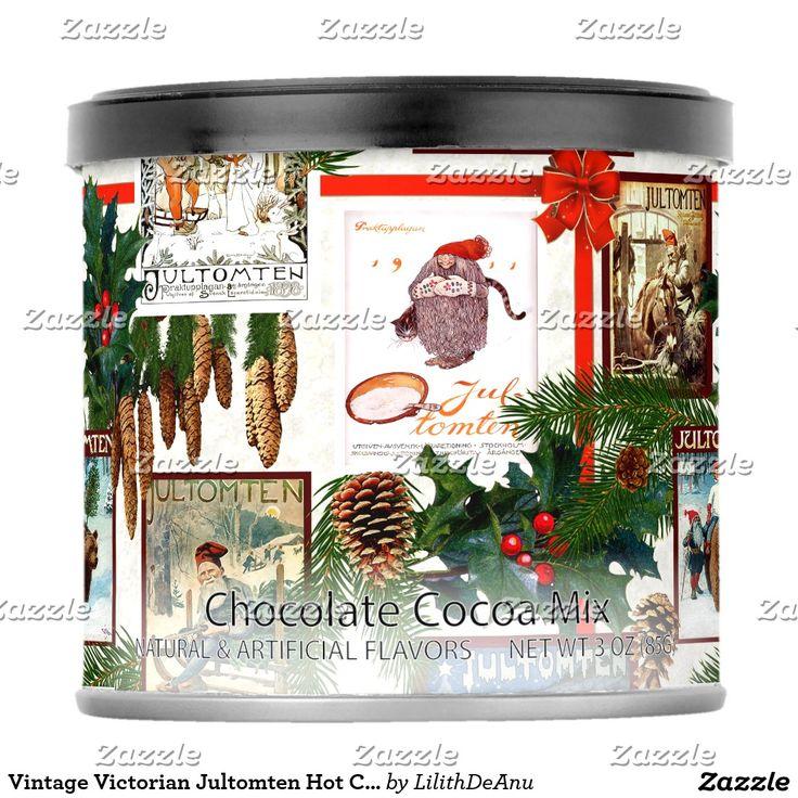 Vintage Victorian Jultomten Hot Chocolate Mix