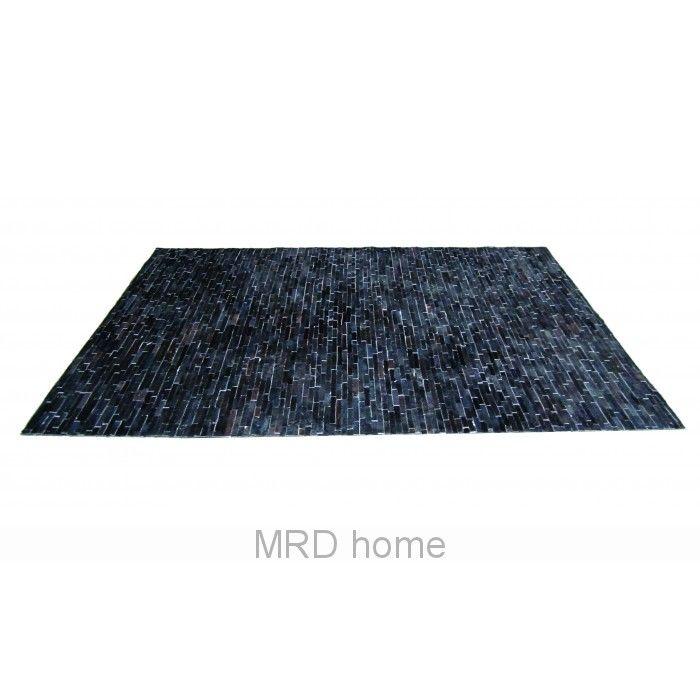 Thatch Calf Hide Rug Black | Furniture Assorted | MRD HOME