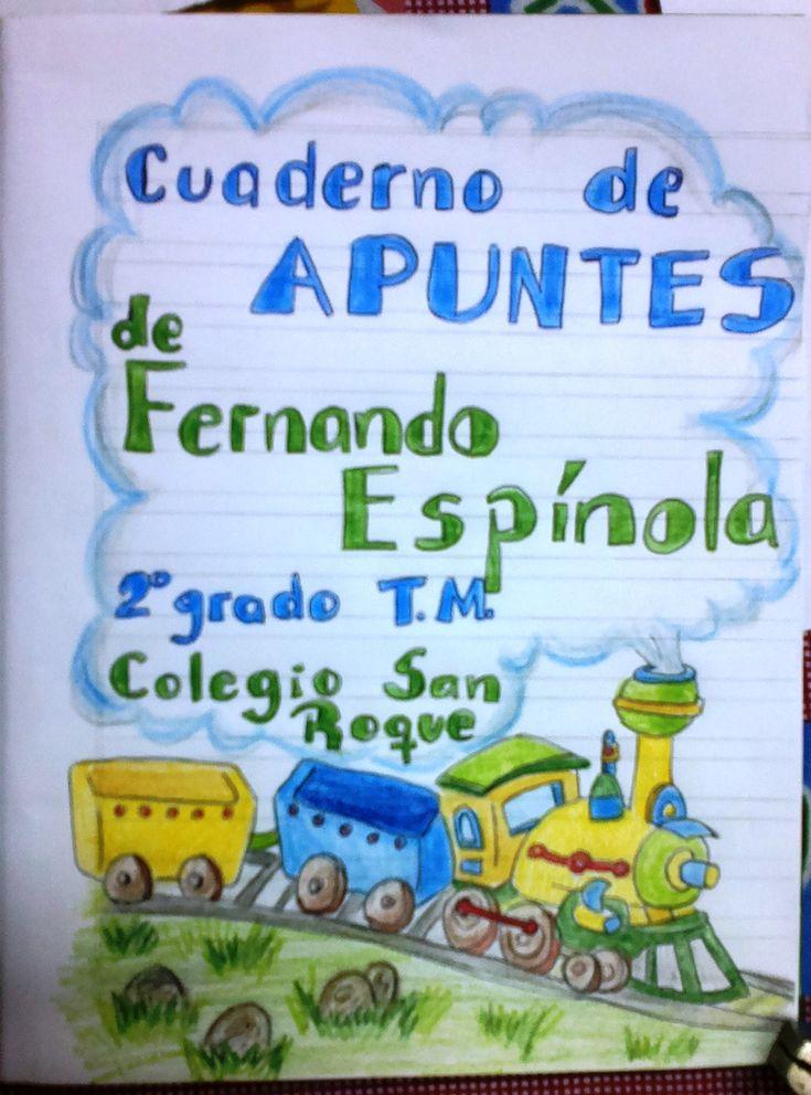 #caratula #portada  #escolar #trencito #librerialauri
