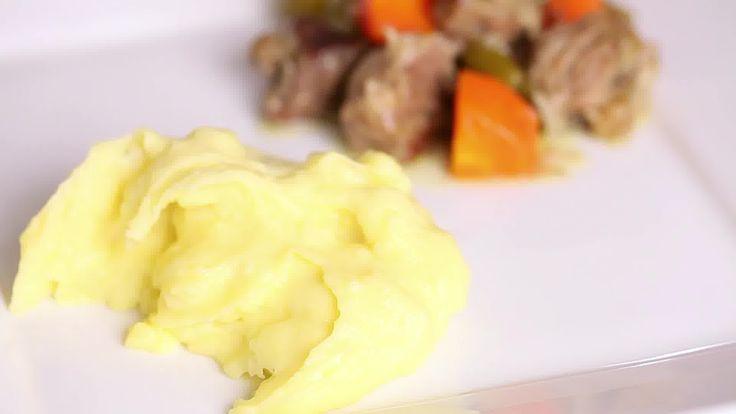 Simple Mashed Potatoes: quarter cut potatoes, boil 15 minutes, mix in ...