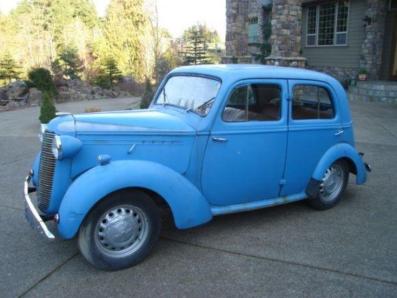 1948 Vauxhall 12 Saloon
