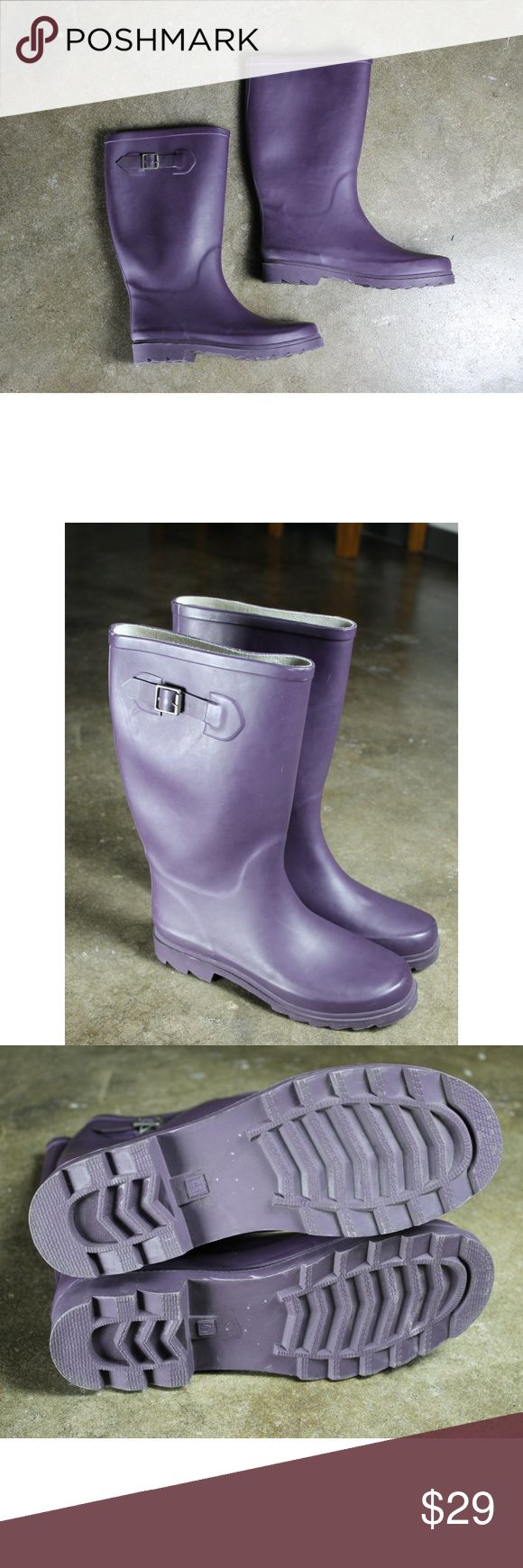 Aldo purple rain boots Sz 41.  Aldo purple rain boots.  Great condition see photos. Aldo Shoes Winter & Rain Boots