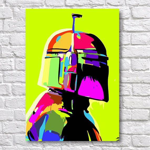 Star Wars Boba Fett Abstract Painting - A4 Wall Art Prints - Fine Art Posters - One Free Print When Buying 3 or More - Starship Use Coupon Code : ONEFREE to save £5.95(one free print) when you spend over £17.50 in my store. effectively Buy 2 prints and get a 3rd FREE Quality and Details Paper: All posters are printed on Olmec(Innova) Photo Lustre 260gsm, instant dry, fade resistant microporous coated heavyweight RC paper. acid free and water resistant paper. This Paper produces...