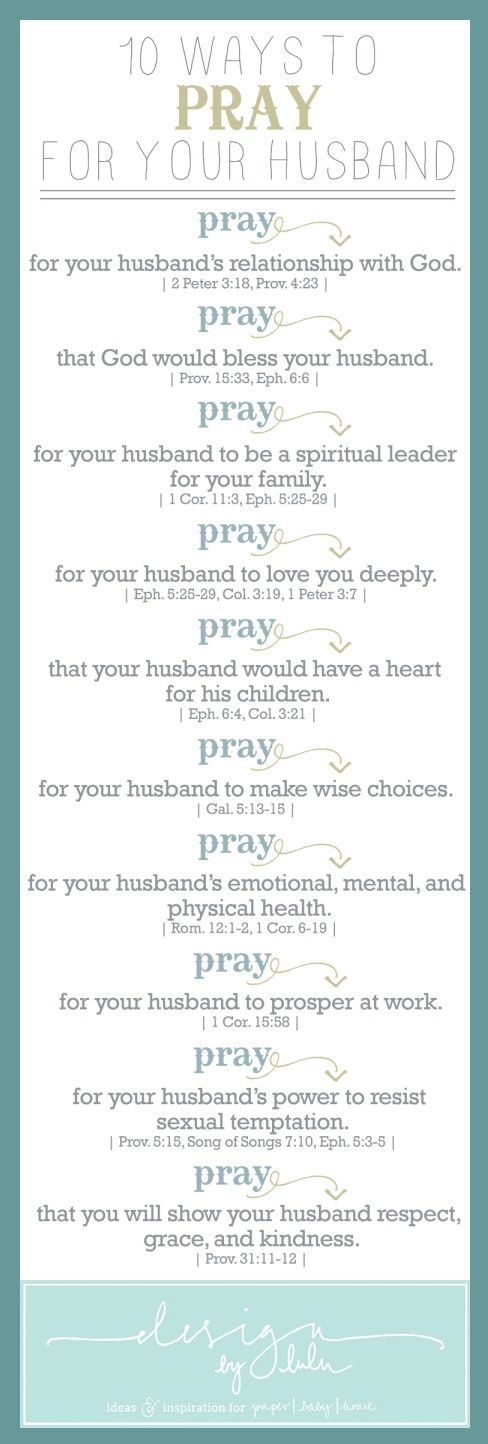 7 Ways to Pray with Your Spouse