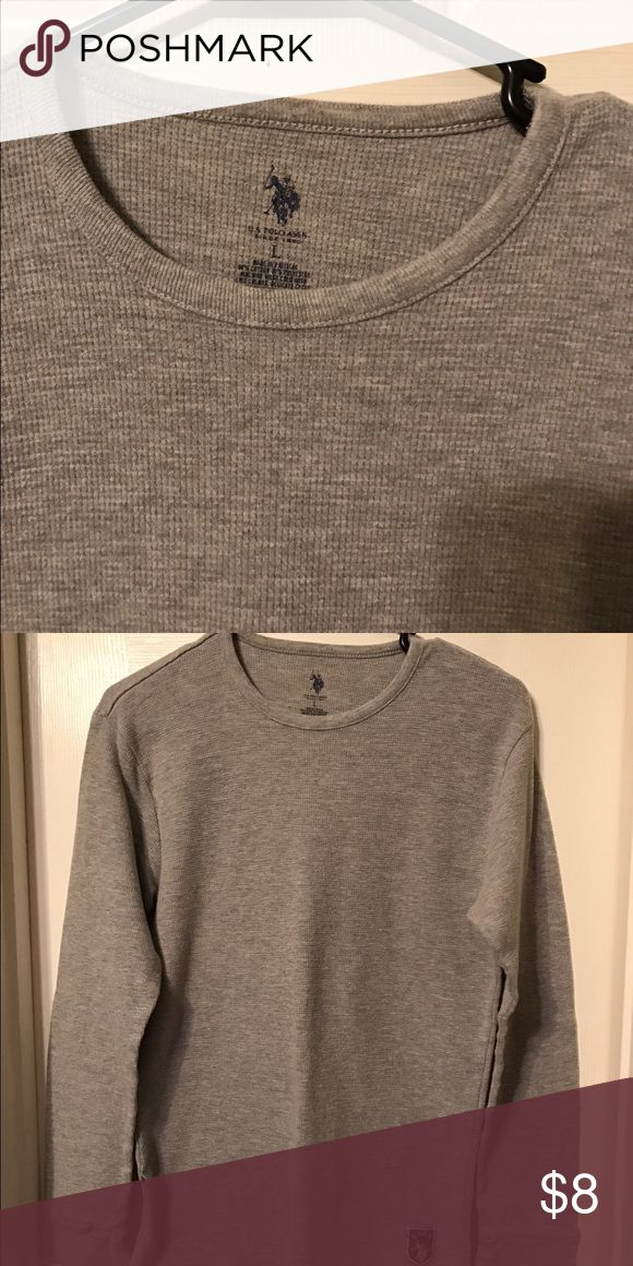 Polo association thermal Polo association thermal. Boys lrg but could be women's small. No holes/stains. No paypal please. Tops Tees - Long Sleeve