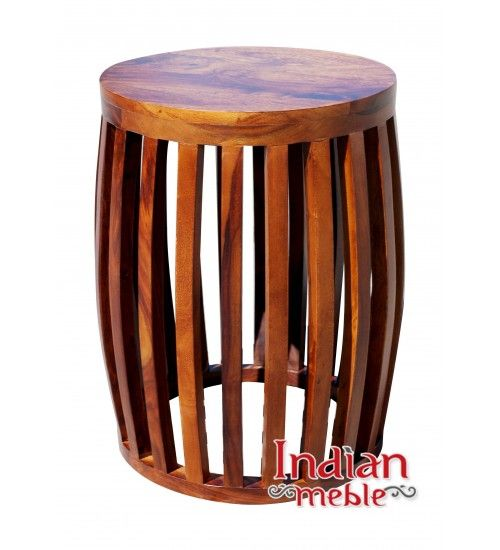 Indyjski drewniany stolik/ taboret - HS-66-IMSTOL.TAB01 - kup nowoczesne meble w Indian Meble  http://www.indianmeble.pl/indyjski-drewniany-stolik-taboret-HS-66-IMSTOL-TAB01