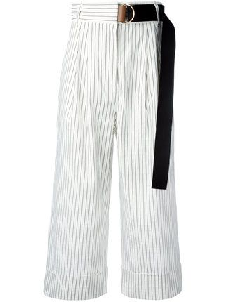Tibi lightweight cropped trousers