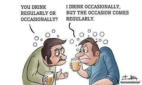 Ocasionally