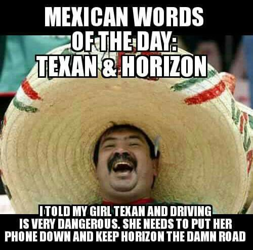 Mexican essay joke