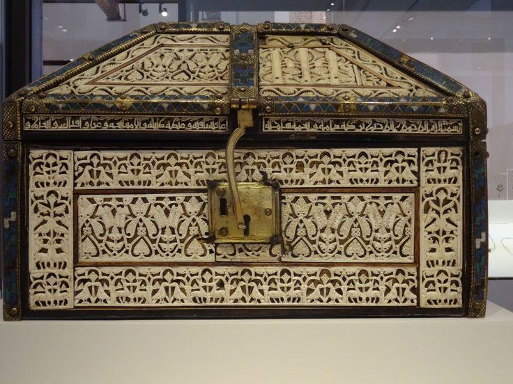 Arqueta de la catedral de Palencia (Museo Arqueológico Nacional)
