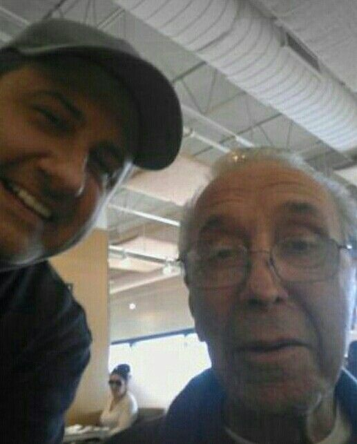 John DiFronzo with that jerk Joey Fosco. The fact that DiFronzo even was seen with this guy shows he's slippin'!